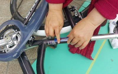 Tests matériel et gravage Vélo