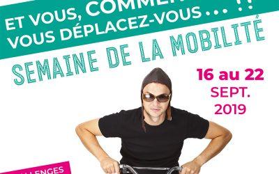 Partenaire de CC Sèvre et Loire lors de la semaine de la mobilité 2019