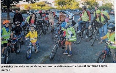 Une semaine à bicyclette avec l'association Place au Vélo Vignoble Nantais