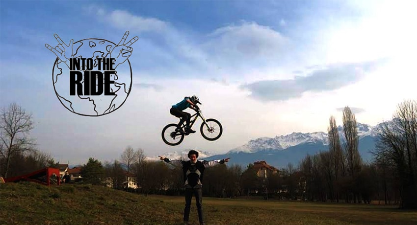 Projection du film de voyage Into The Ride